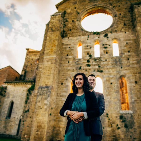 San Galgano Abbey- Sara & Emiliano