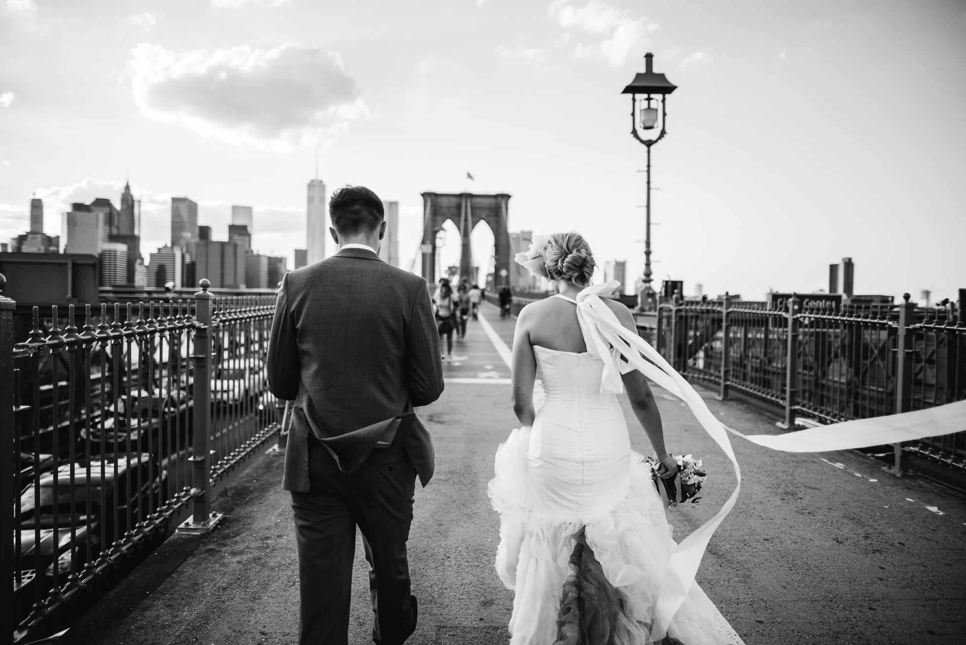 Brooklyn Bridge wedding