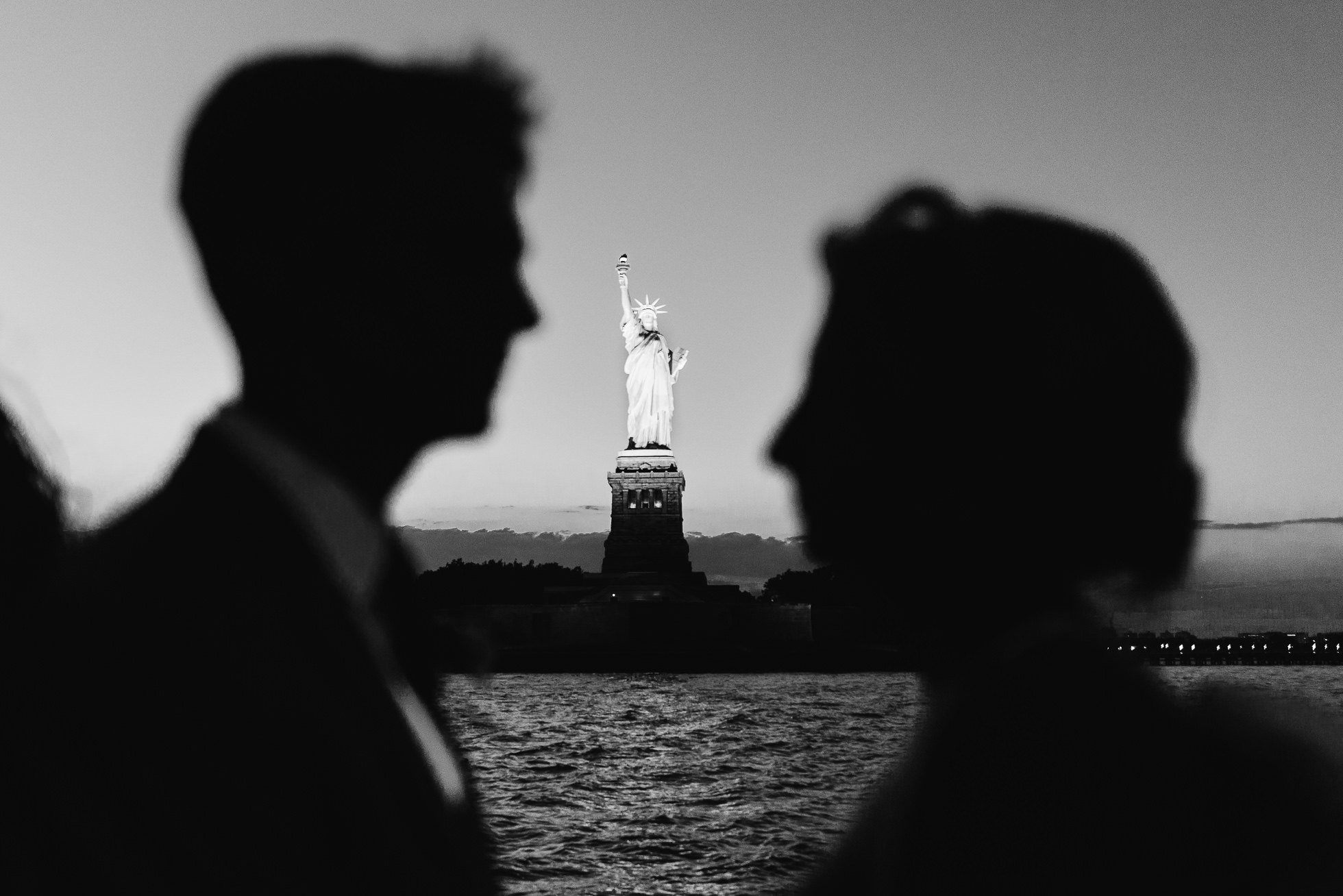 New York Water Taxi wedding