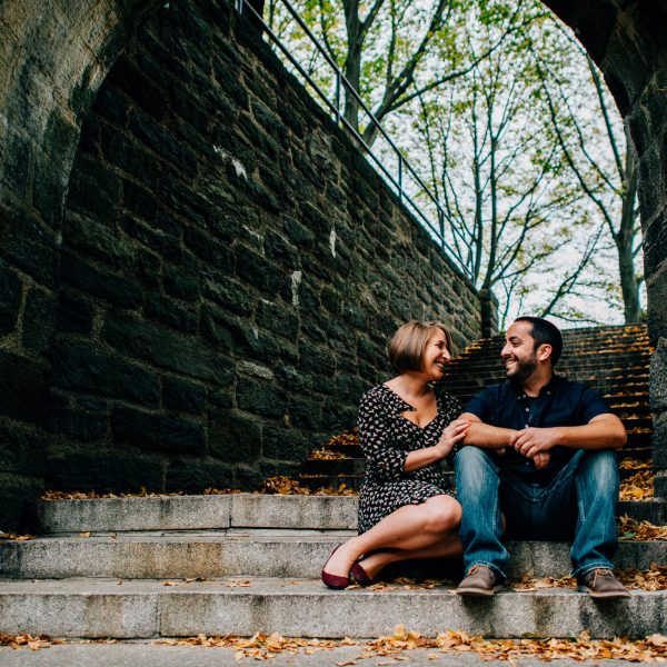 Fort Tryon Park Engagement- Jackie & Jason