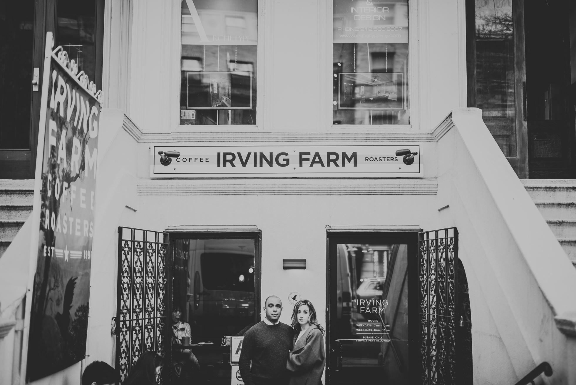 engagement photos irving farm