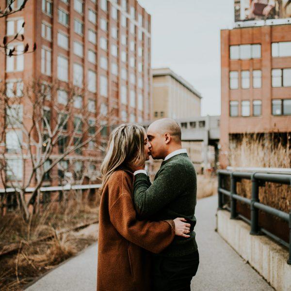 The High Line Engagement- Christi & Sam