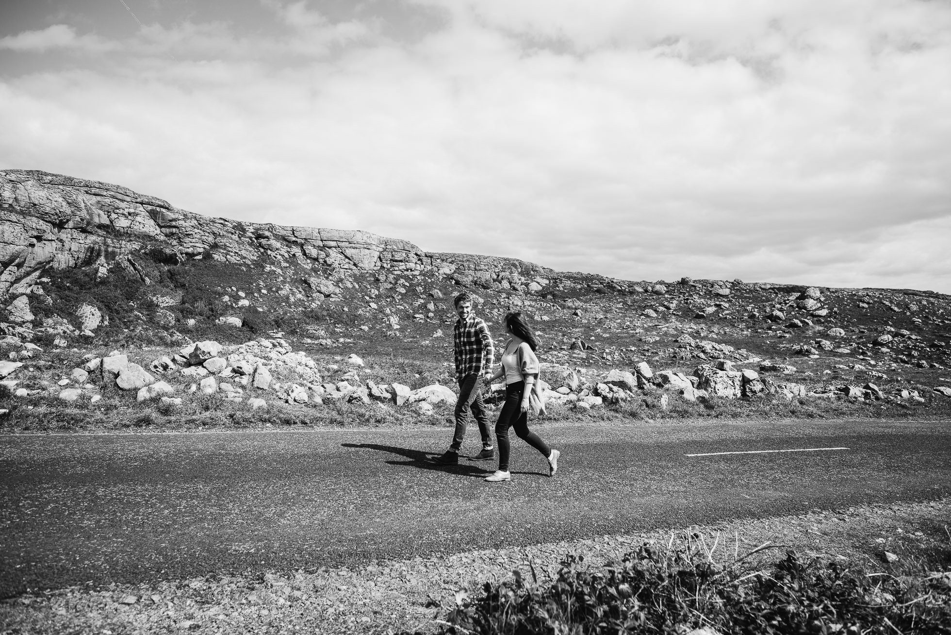 Ireland countryside wedding portraits
