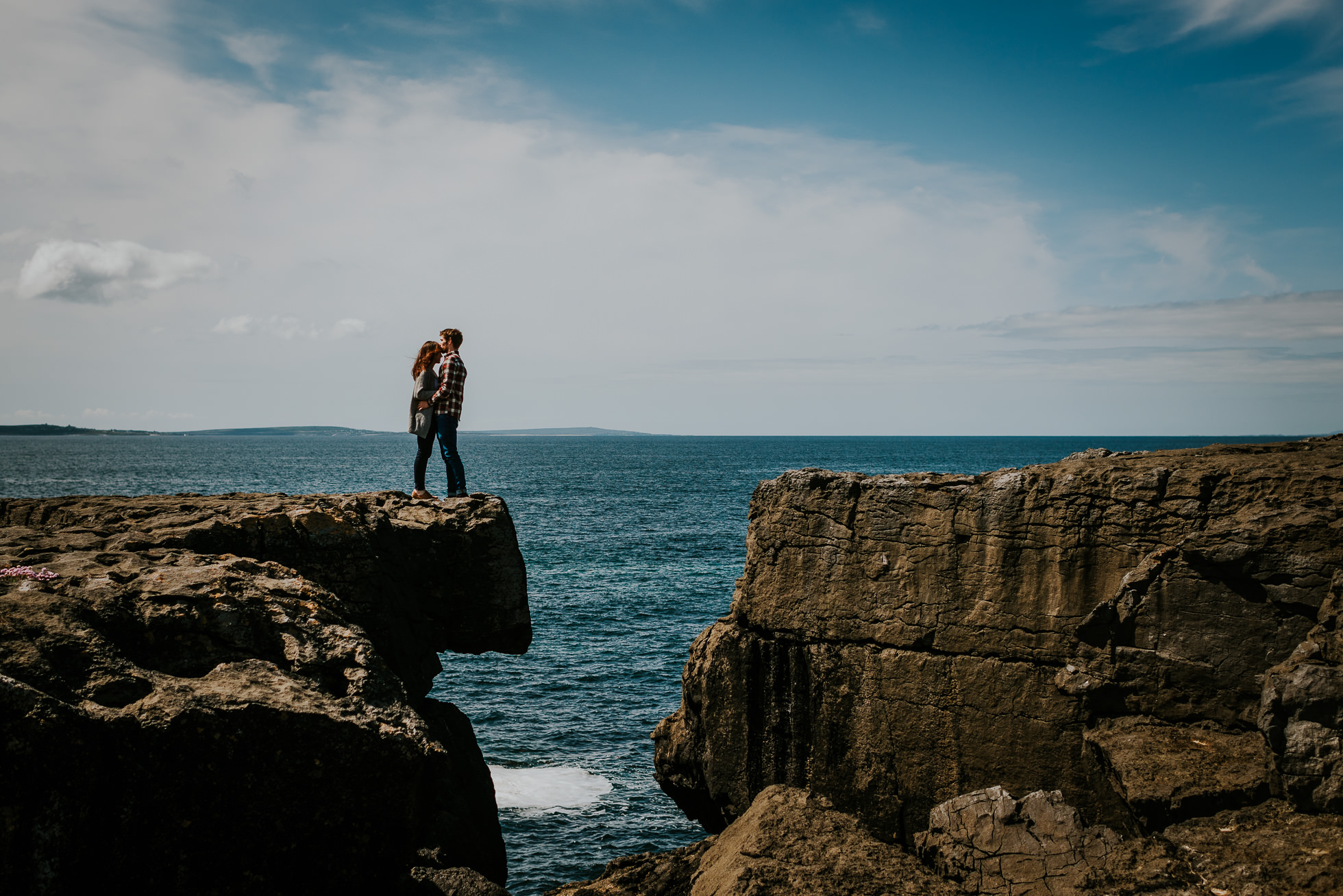 Irish couple engagement