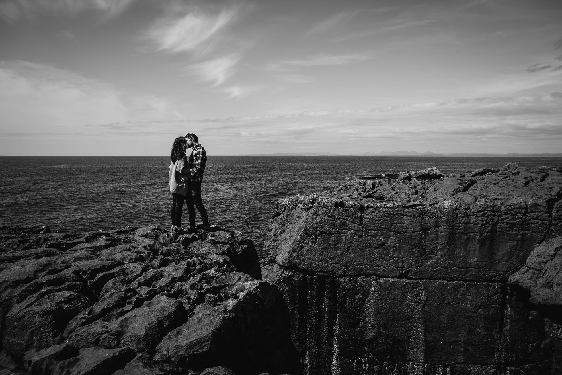 The Burren engagement photos