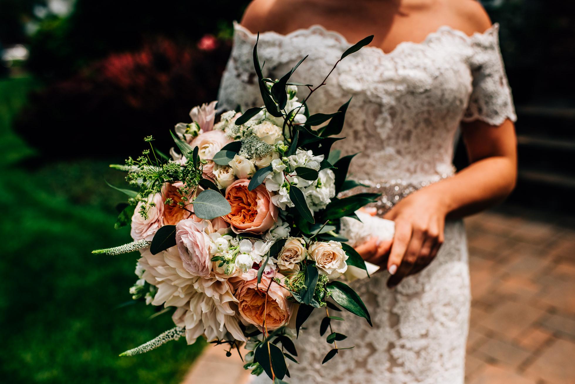 brides bouquet long island