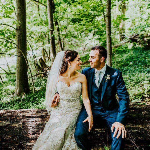 George Weir Barn Wedding- Nicole & Mark