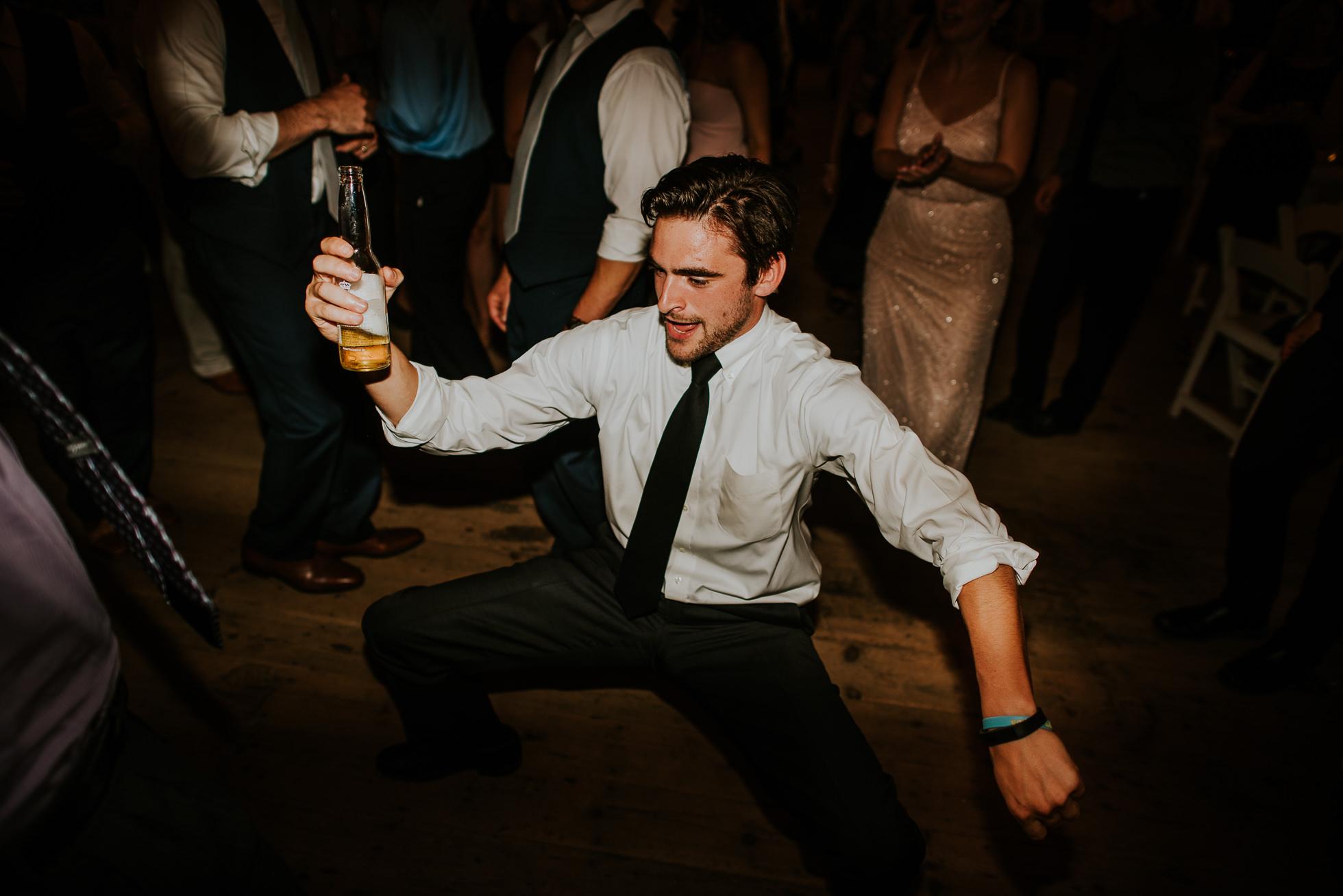 dancing barn wedding