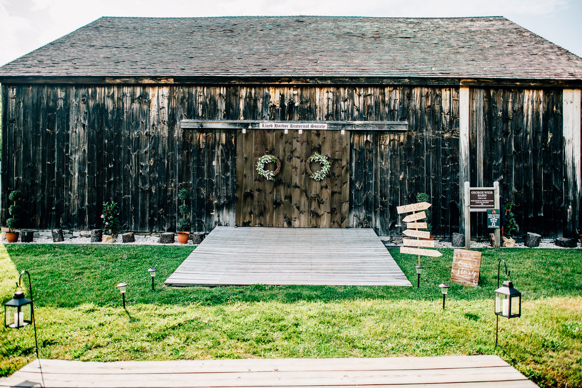 George Weir Barn Wedding Pictures