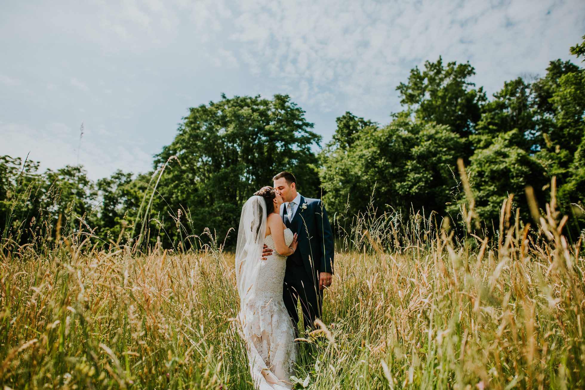george weir barn wedding portraits
