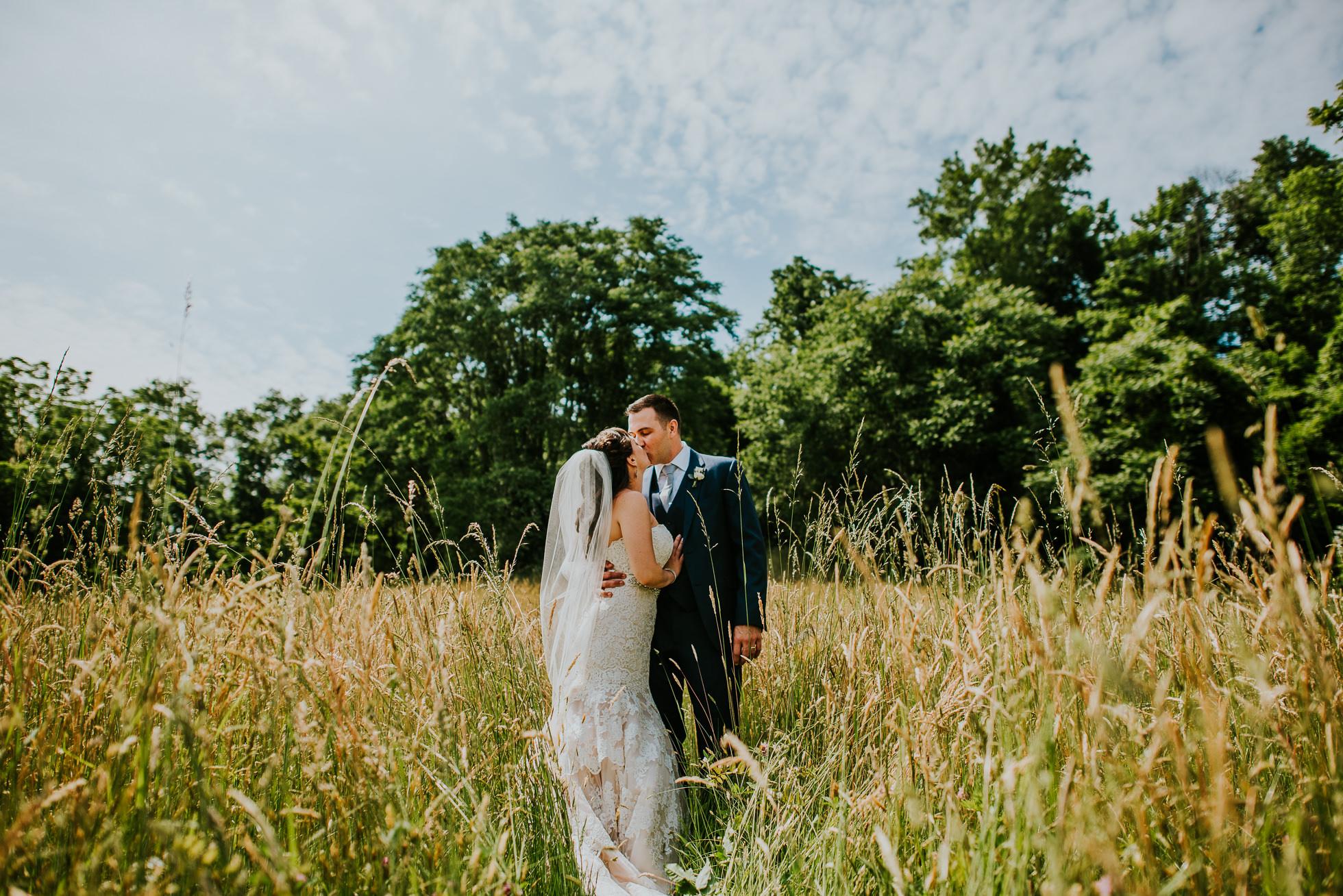 george weir barn wedding portraits