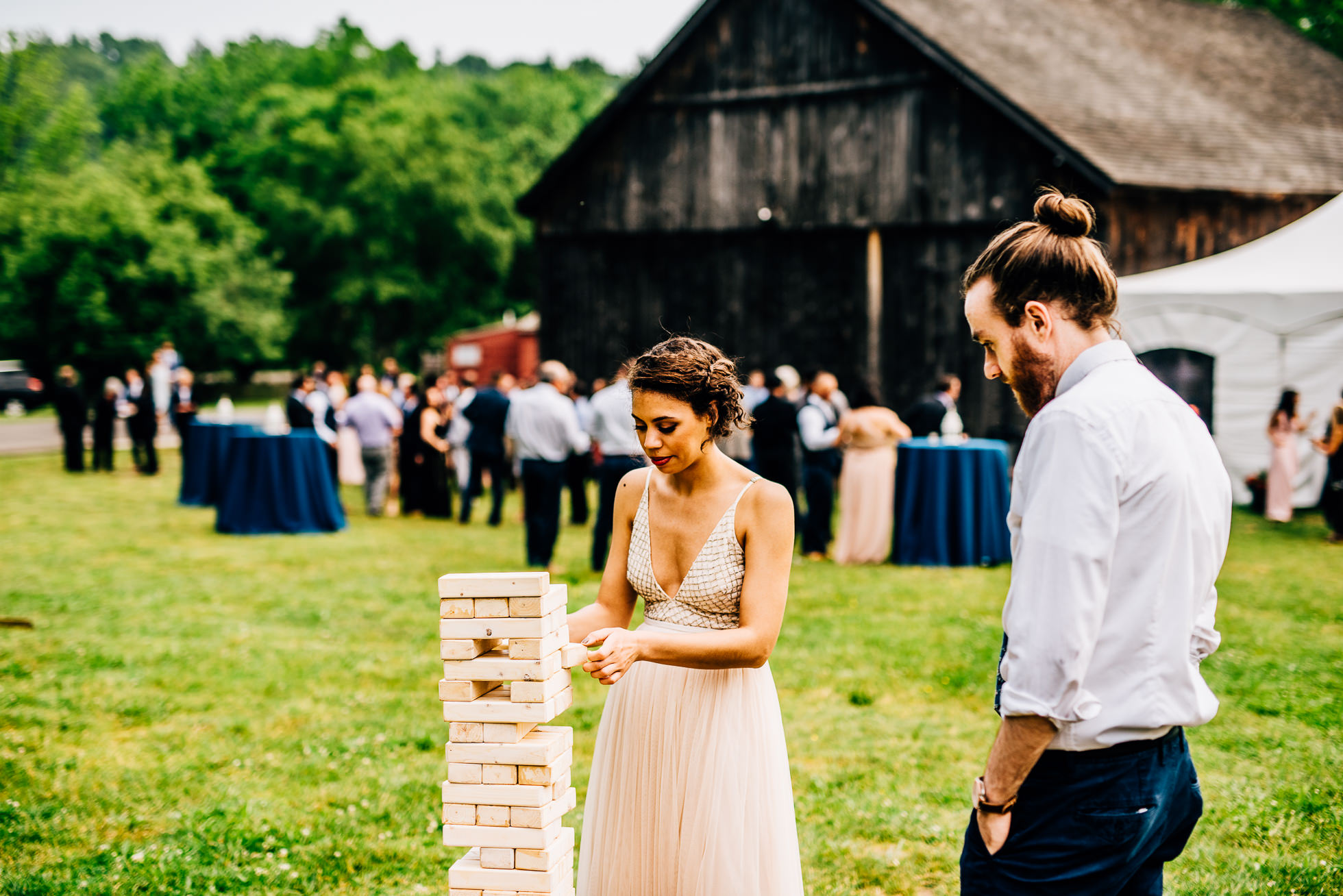 jenga wedding