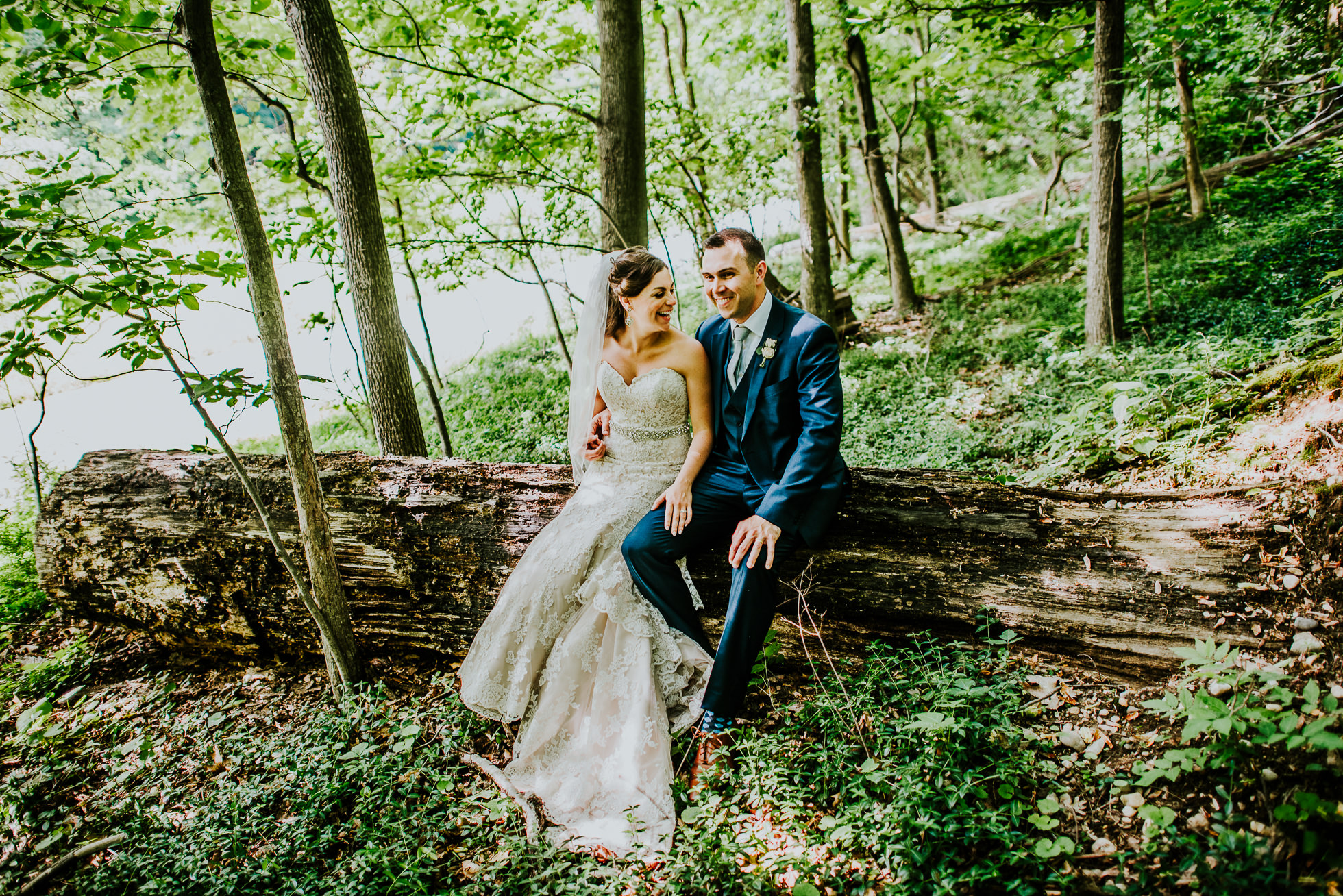 long island woods wedding