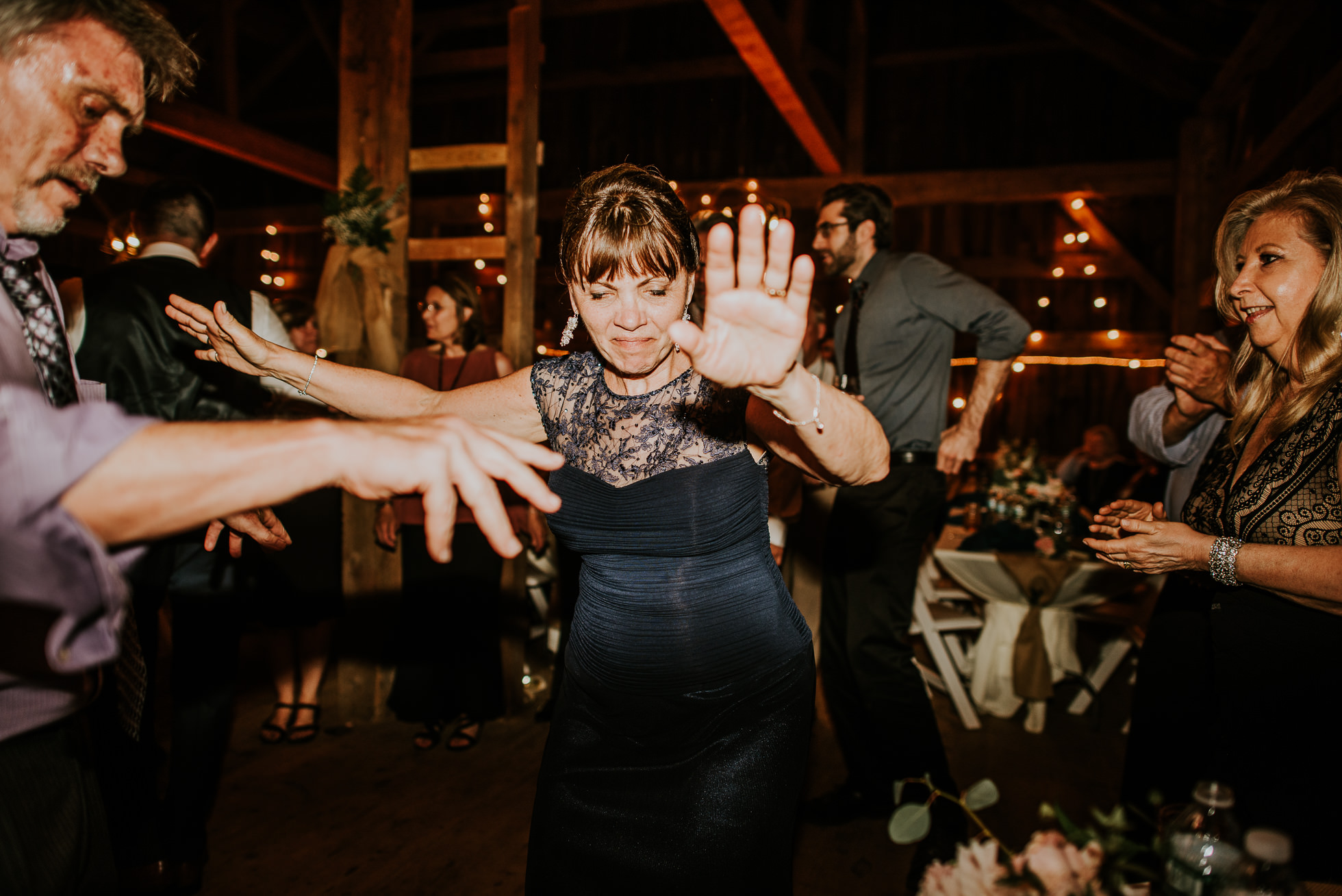 mother of bride dancing