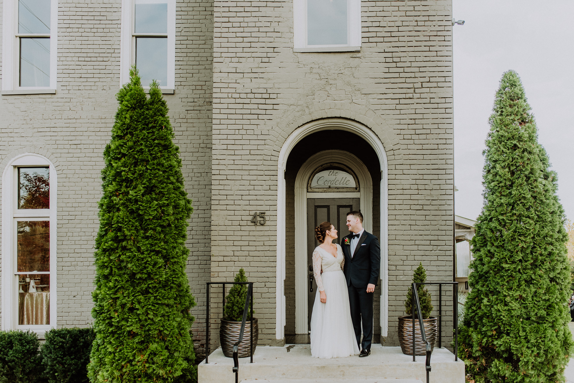 the cordelle nashville wedding entrance