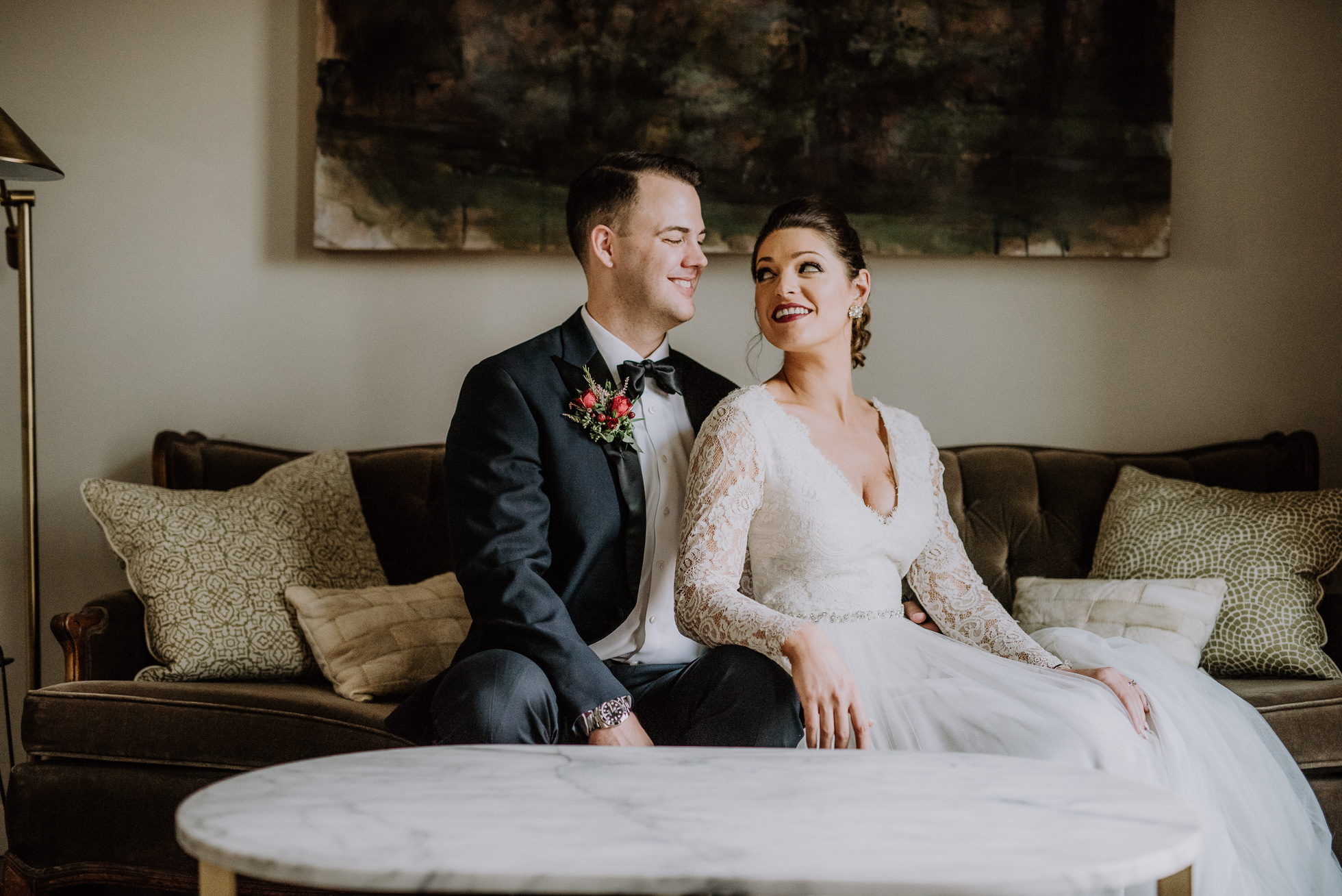 stylish nashville wedding at the cordelle