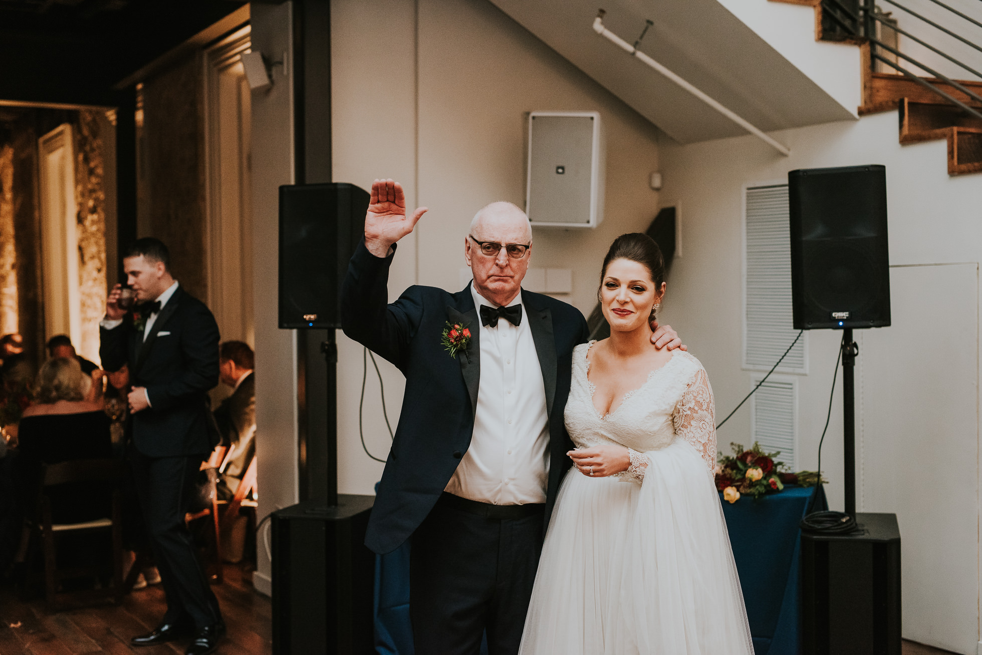 father daughter dance at the cordelle wedding