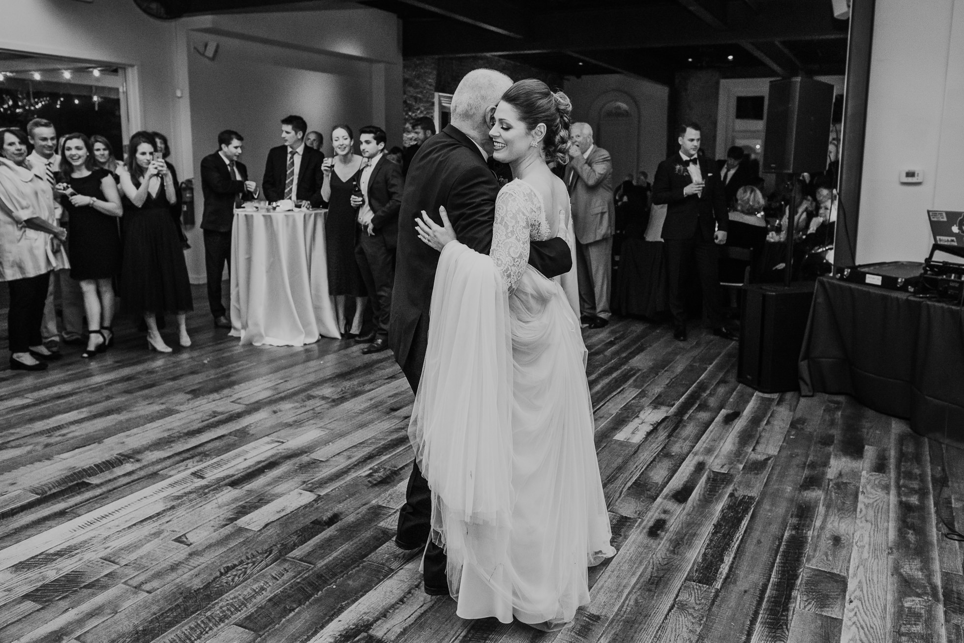 father daughter dance at the cordelle wedding reception
