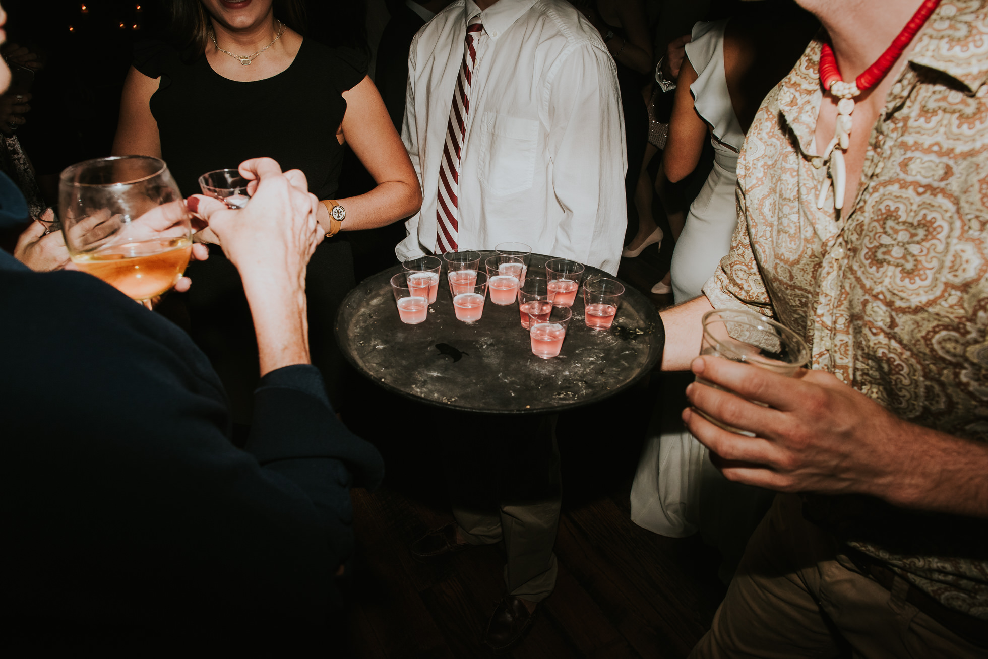 shots at wedding reception at the cordelle nashville wedding