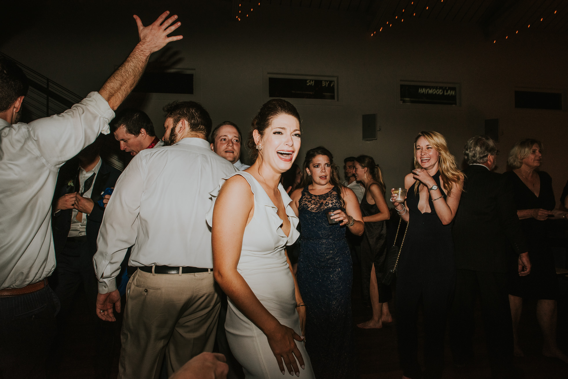 bride partying the cordelle nashville wedding reception