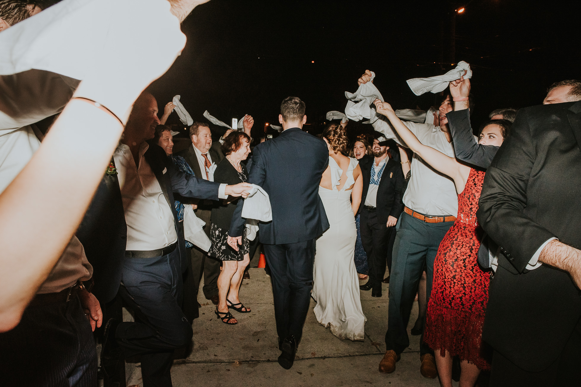 handkerchief wedding exit at the cordelle nashville
