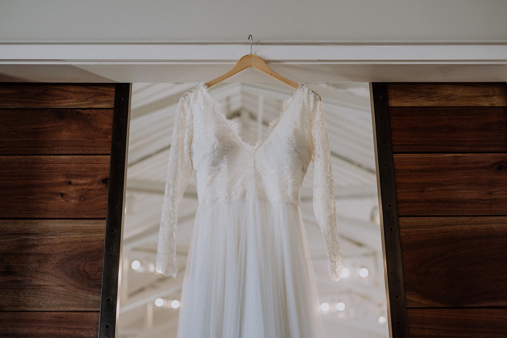 vintage bridal gown