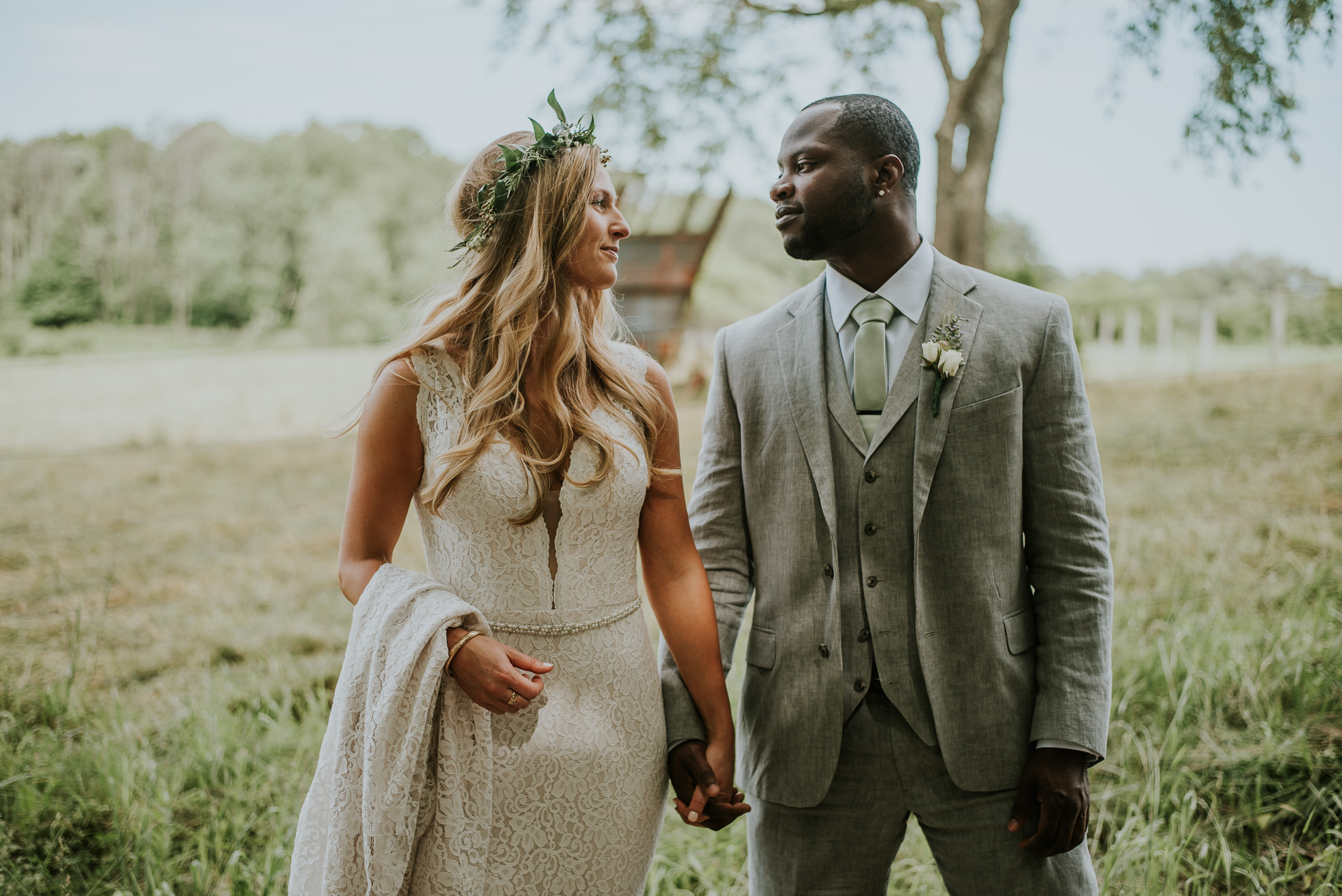 rustic wedding photographer photographed by Traverse the Tides