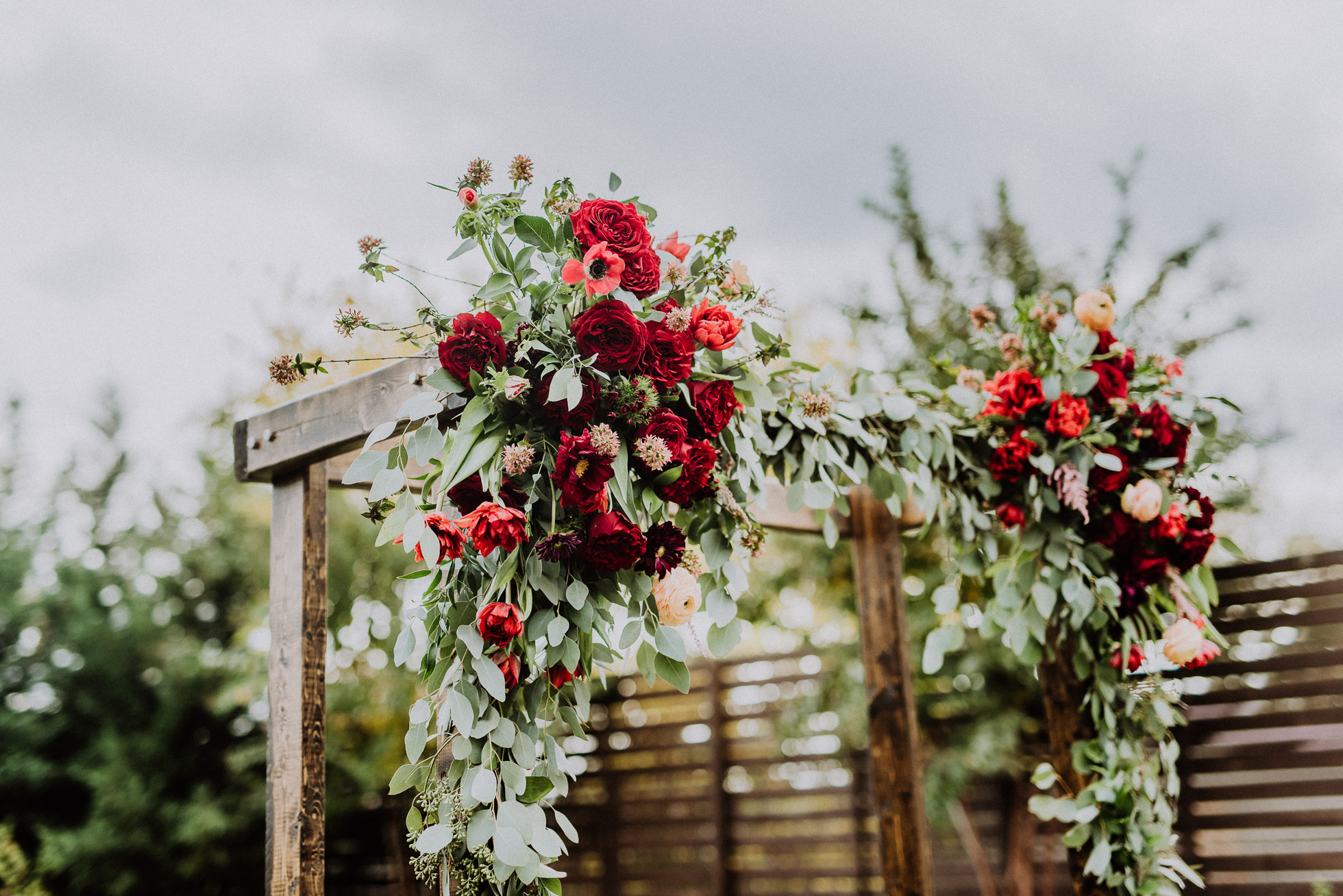 beautiful floral wedding arch the cordelle