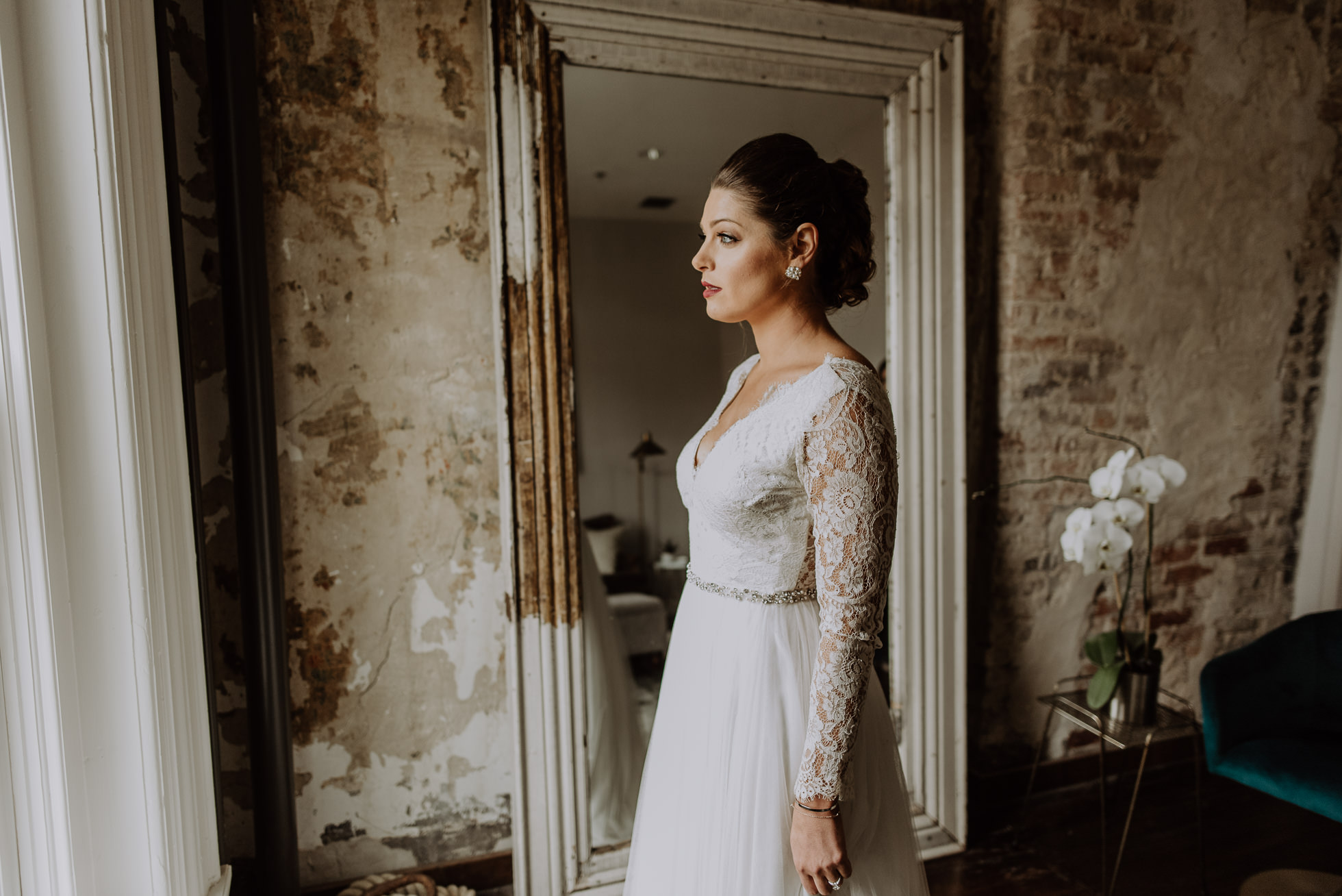 bridal portrait the cordelle nashville wedding