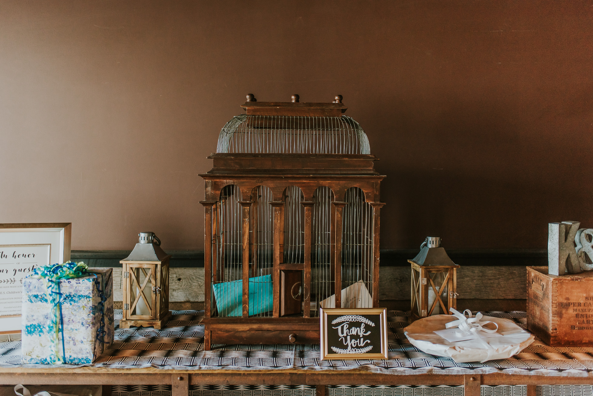 rustic wedding gifts photographed by Traverse the Tides