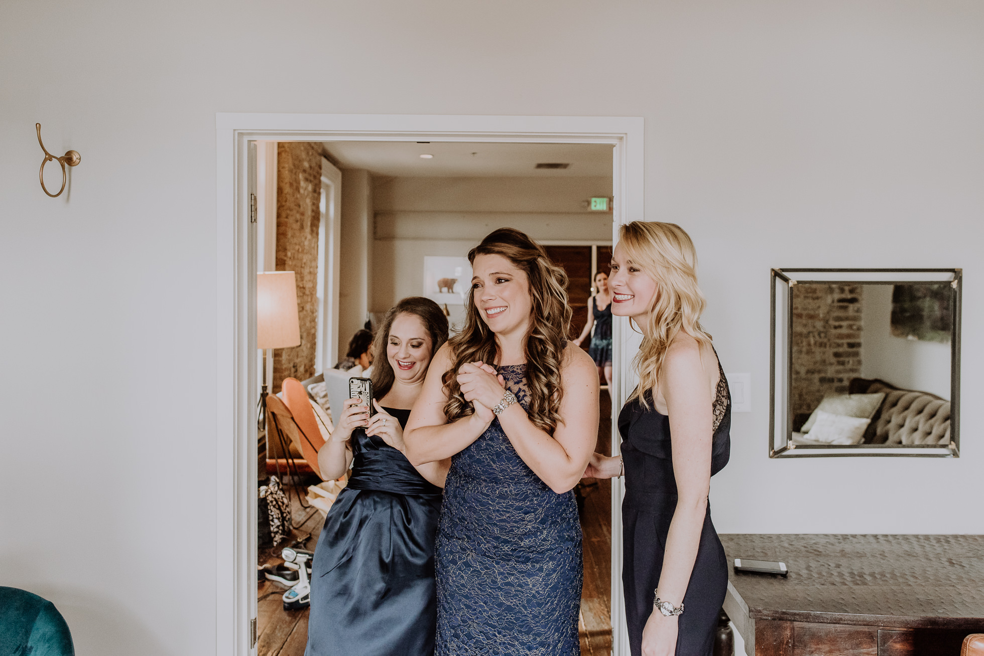 emotional bridesmaids the cordelle nashville wedding