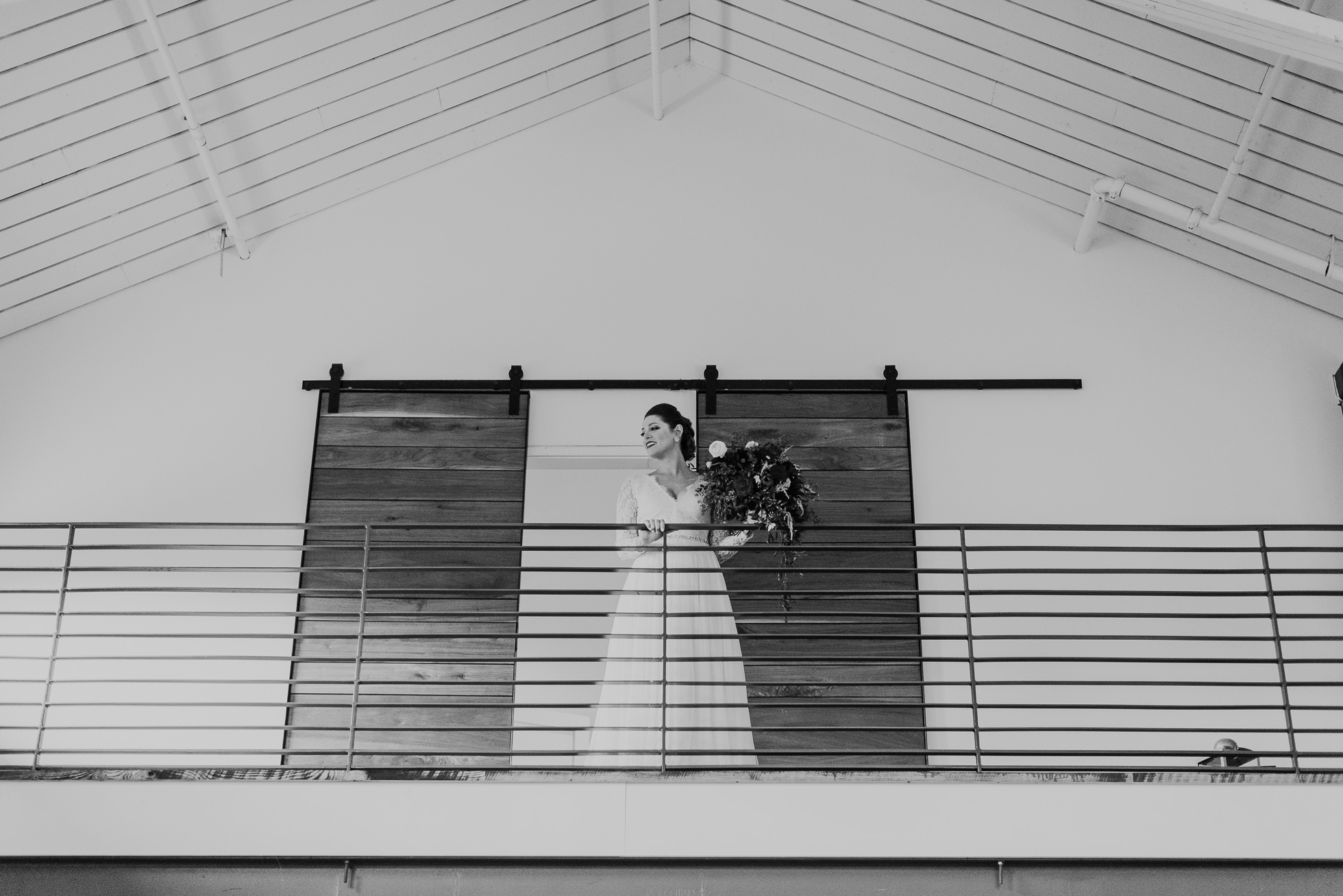bride coming out of bridal suite at the cordelle nashville wedding