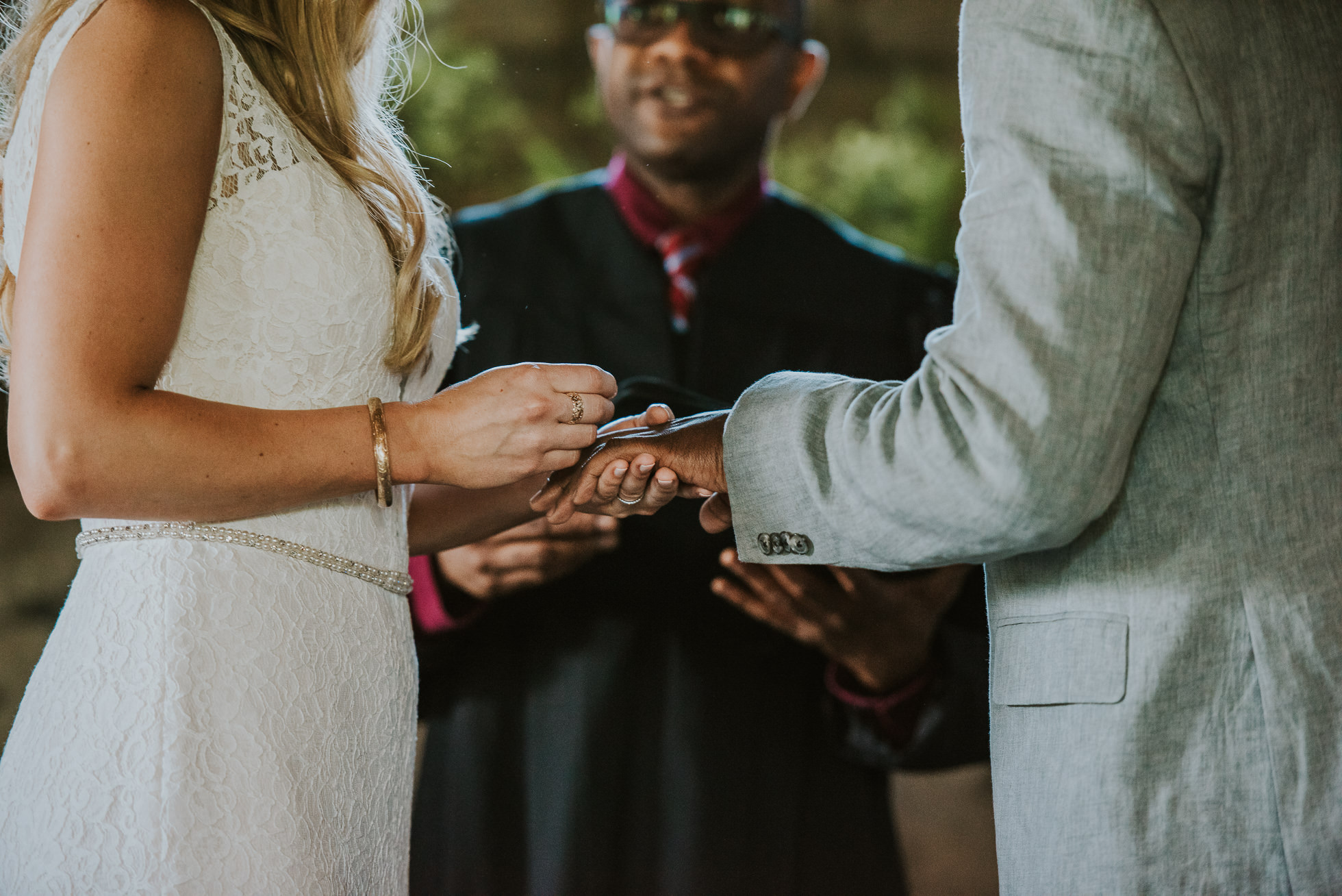 wedding rings photographed by Traverse the Tides