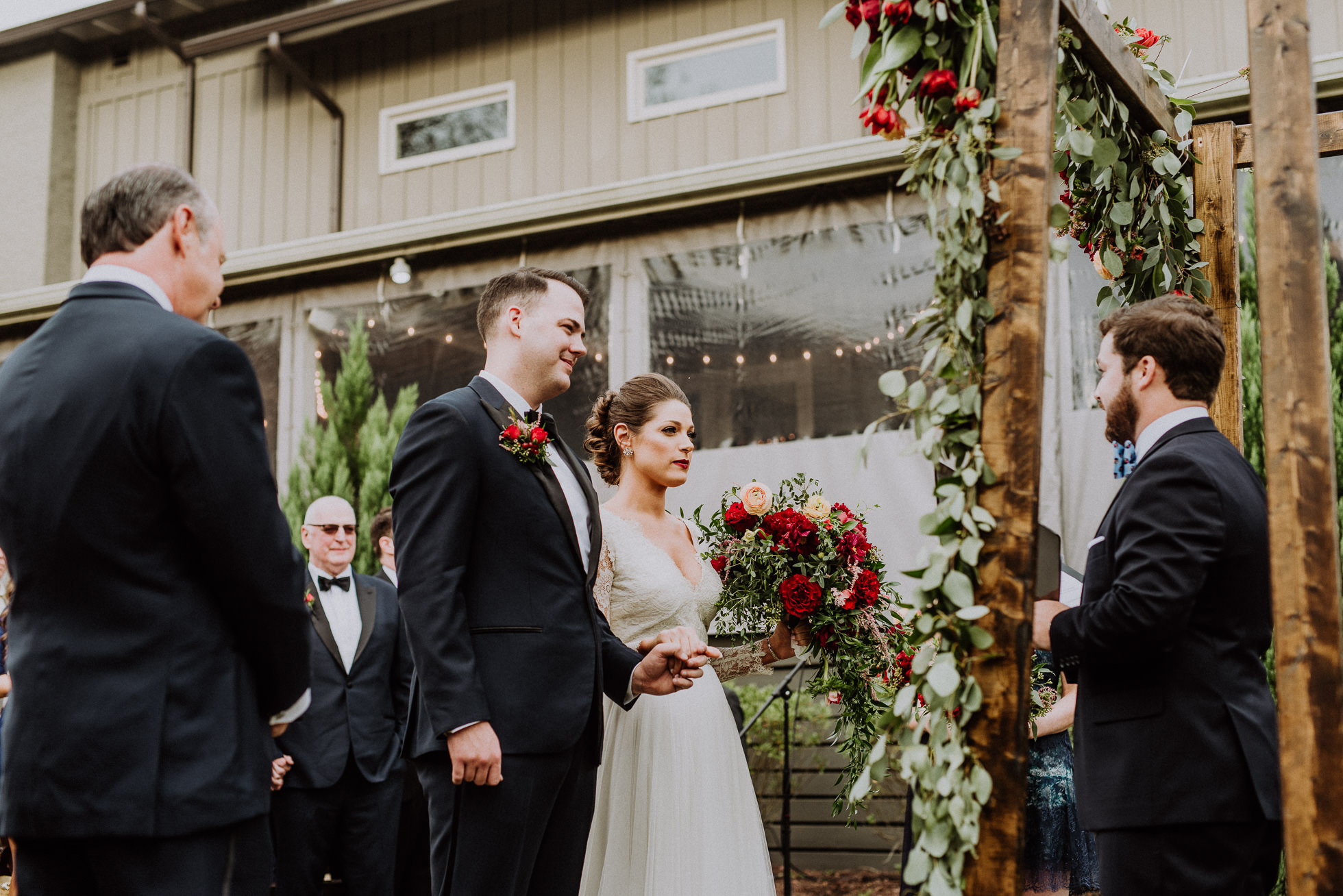 rustic nashville wedding at the cordelle