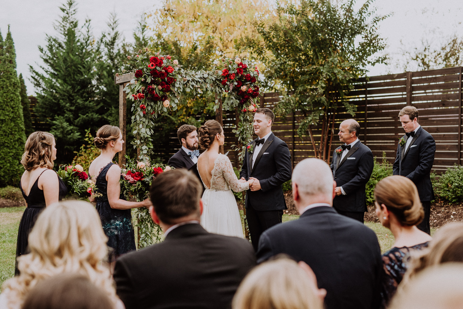 vow exchange outdoor ceremony at the cordelle nashville