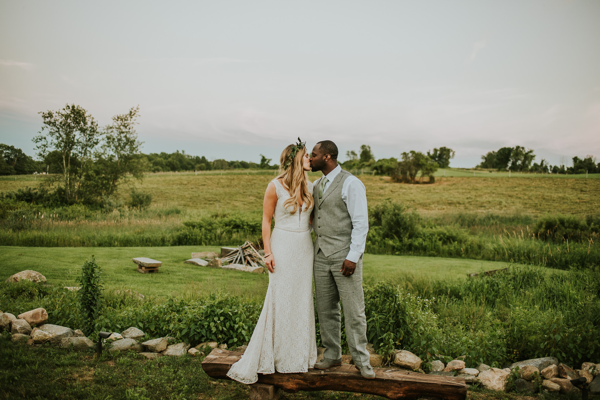boho bride dress photographed by Traverse the Tides
