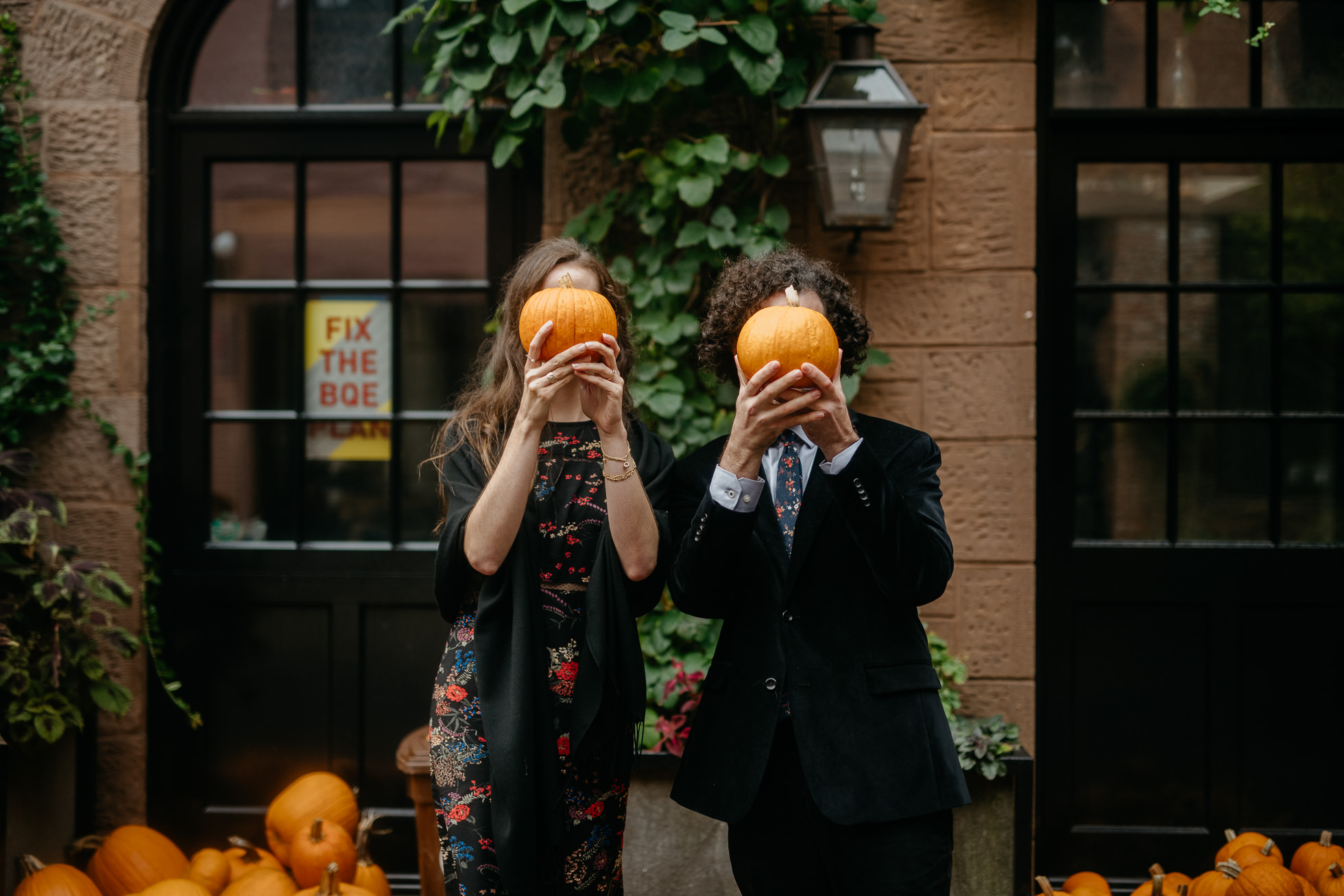 autumn engagement sessions new york