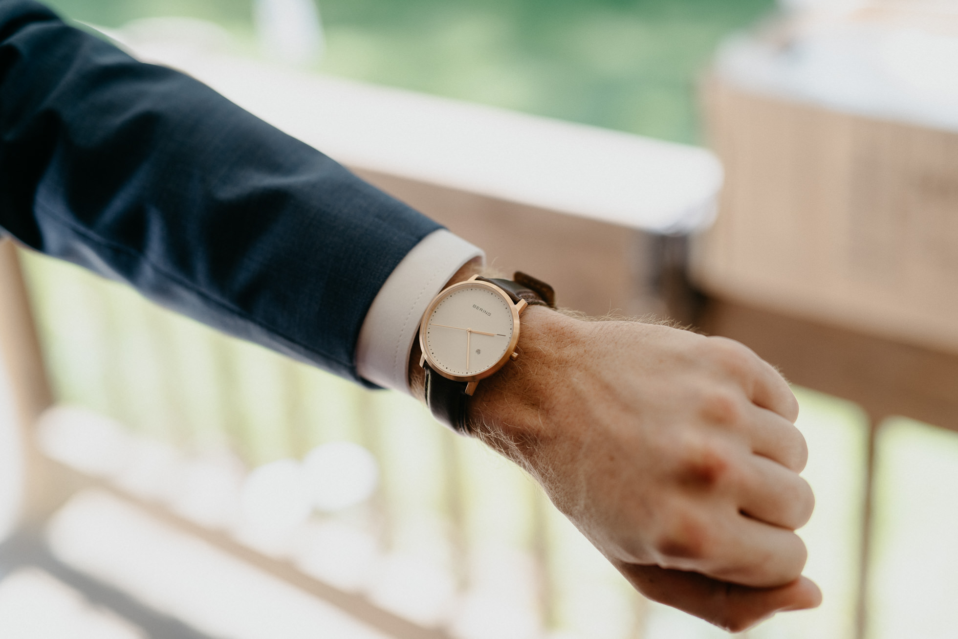 bering watch wedding