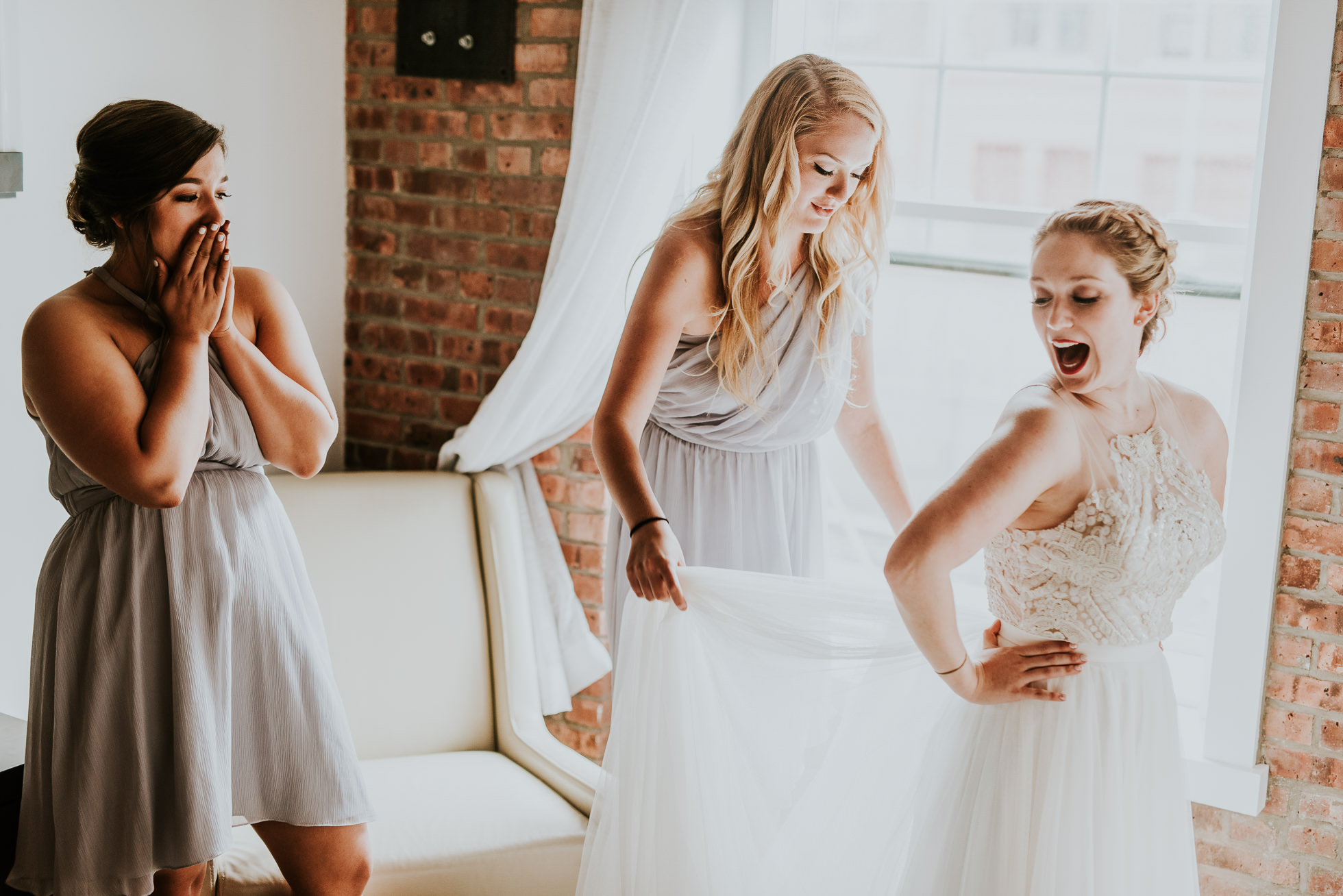 BHLDN dress photographed by Traverse The Tides