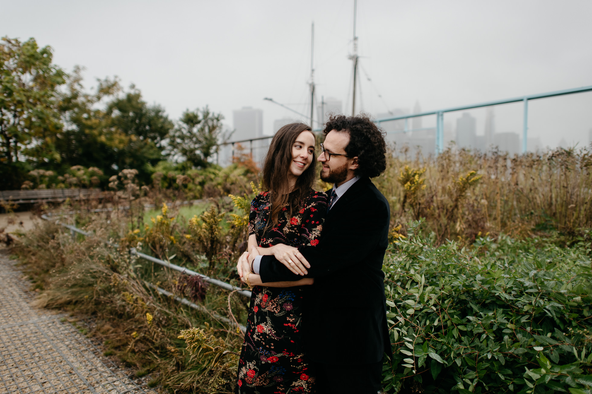 Brooklyn Bridge Park wedding photos-2
