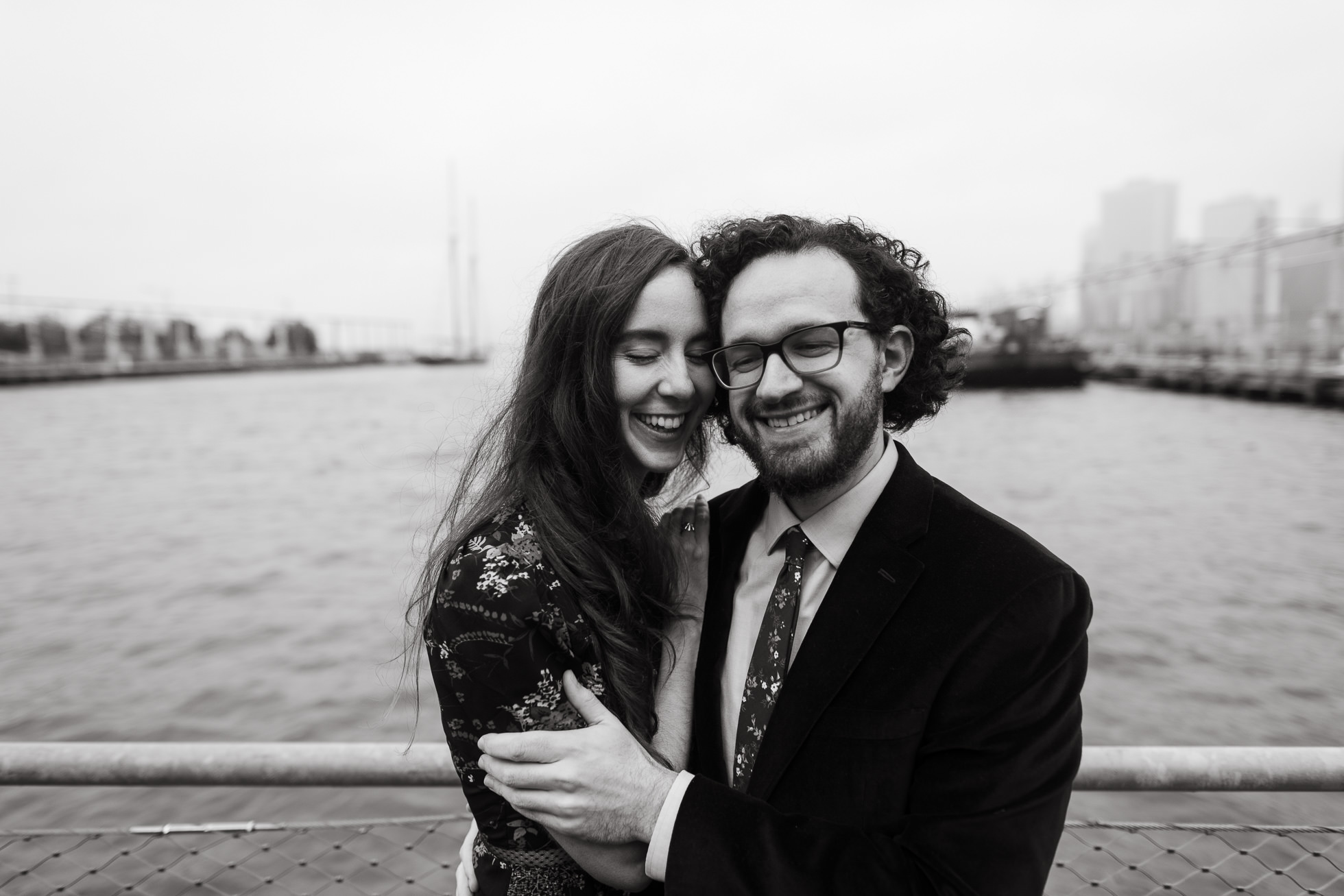Brooklyn Bridge wedding photos