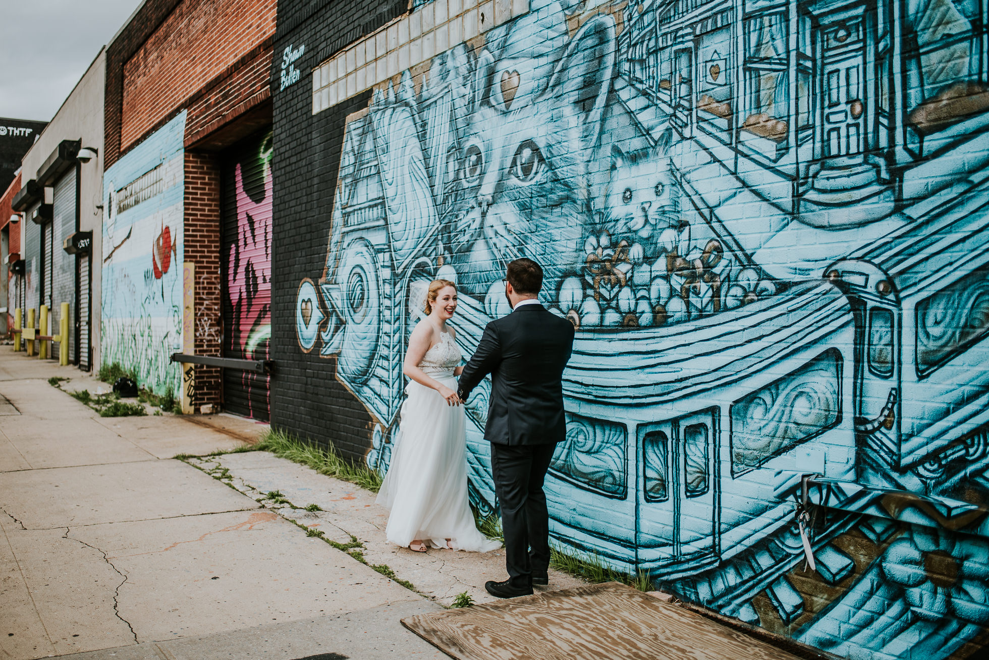 brooklyn wedding portraits photographed by Traverse The Tides