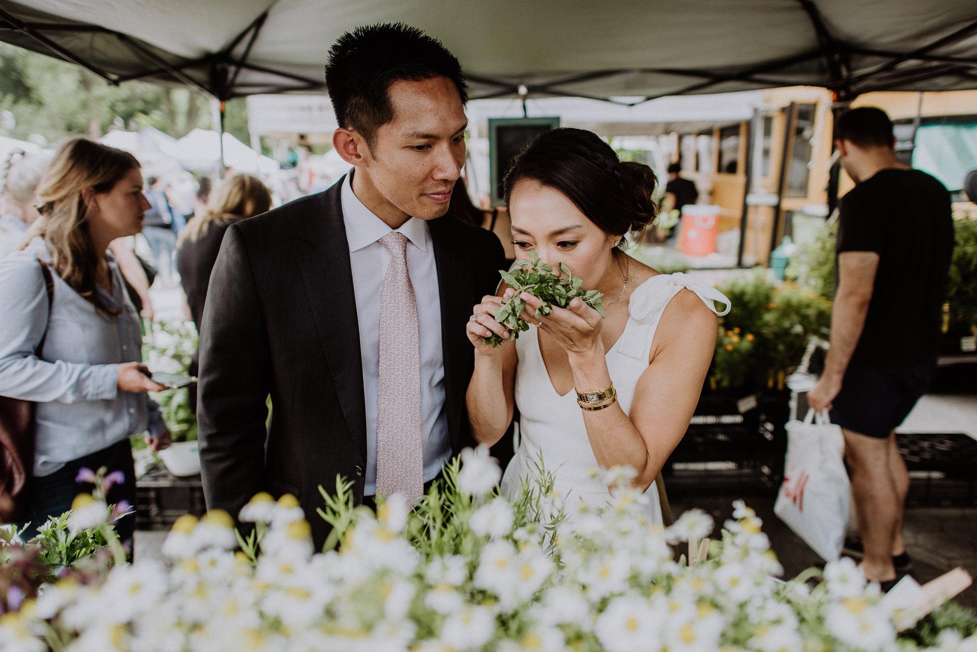 candid wedding photographers New York