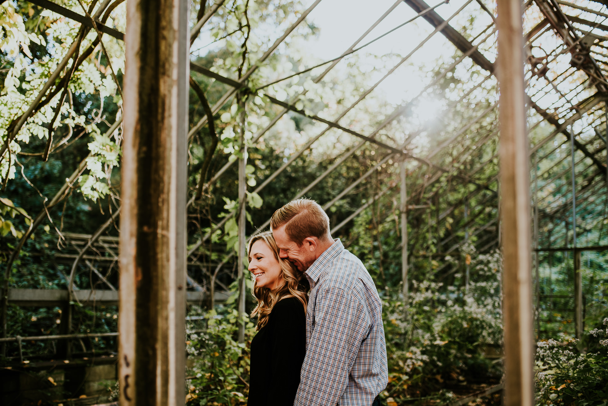 dramatic engagement session photographed by Traverse the Tides