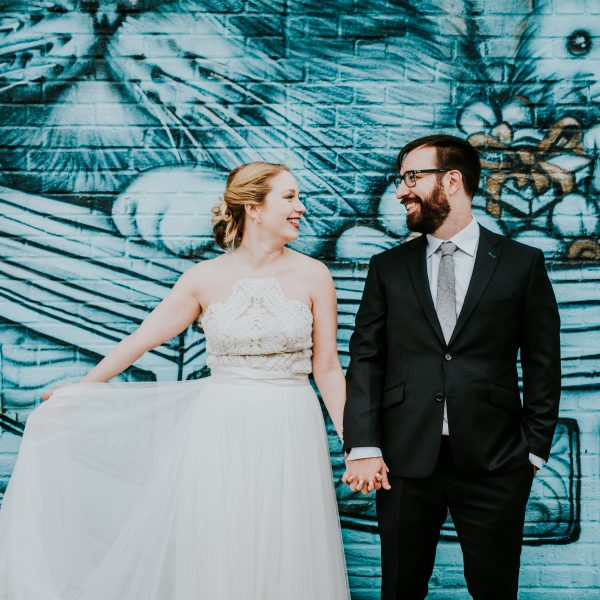 The Well, Bushwick Wedding-Emma & Ian