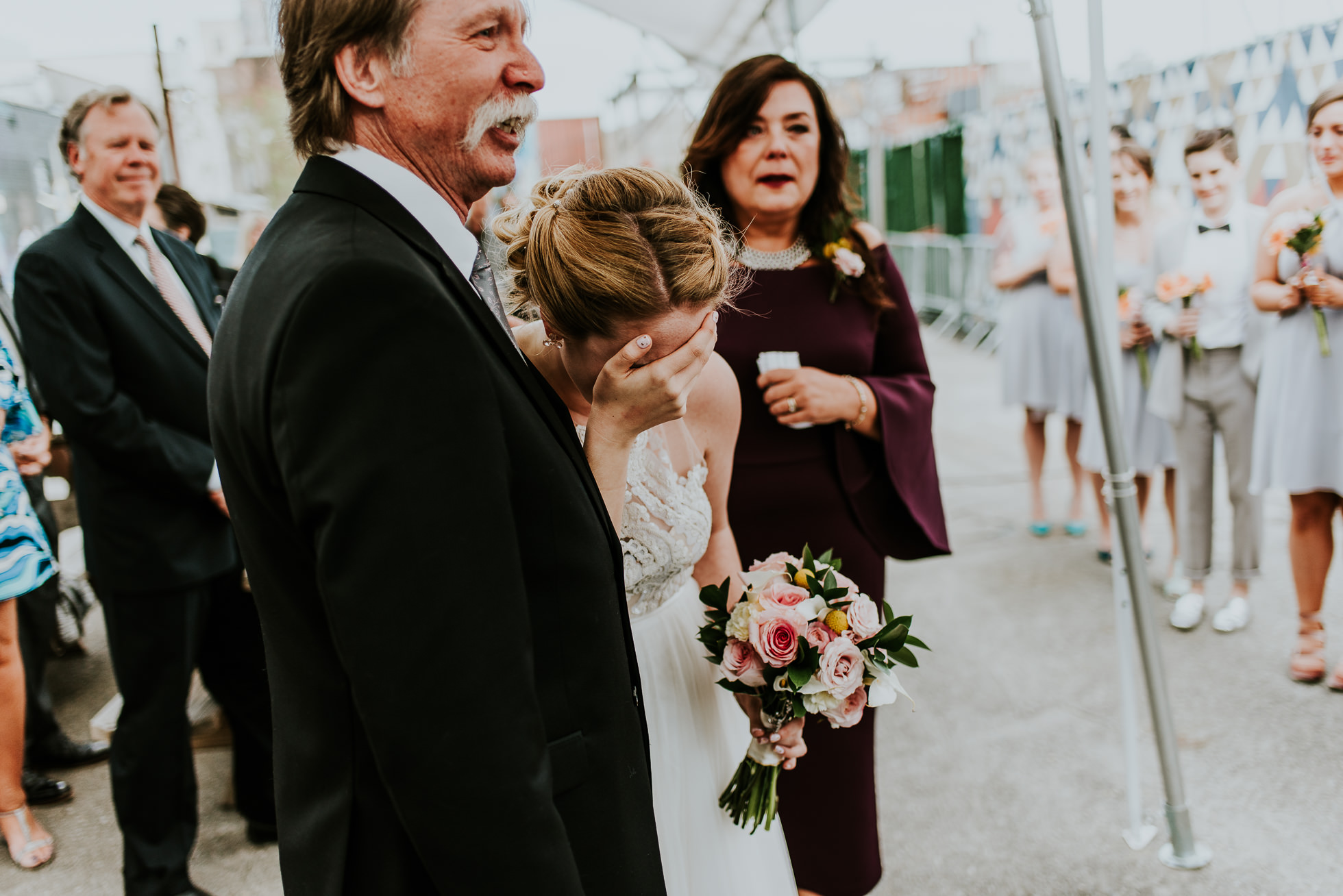 emotional wedding photographed by Traverse The Tides