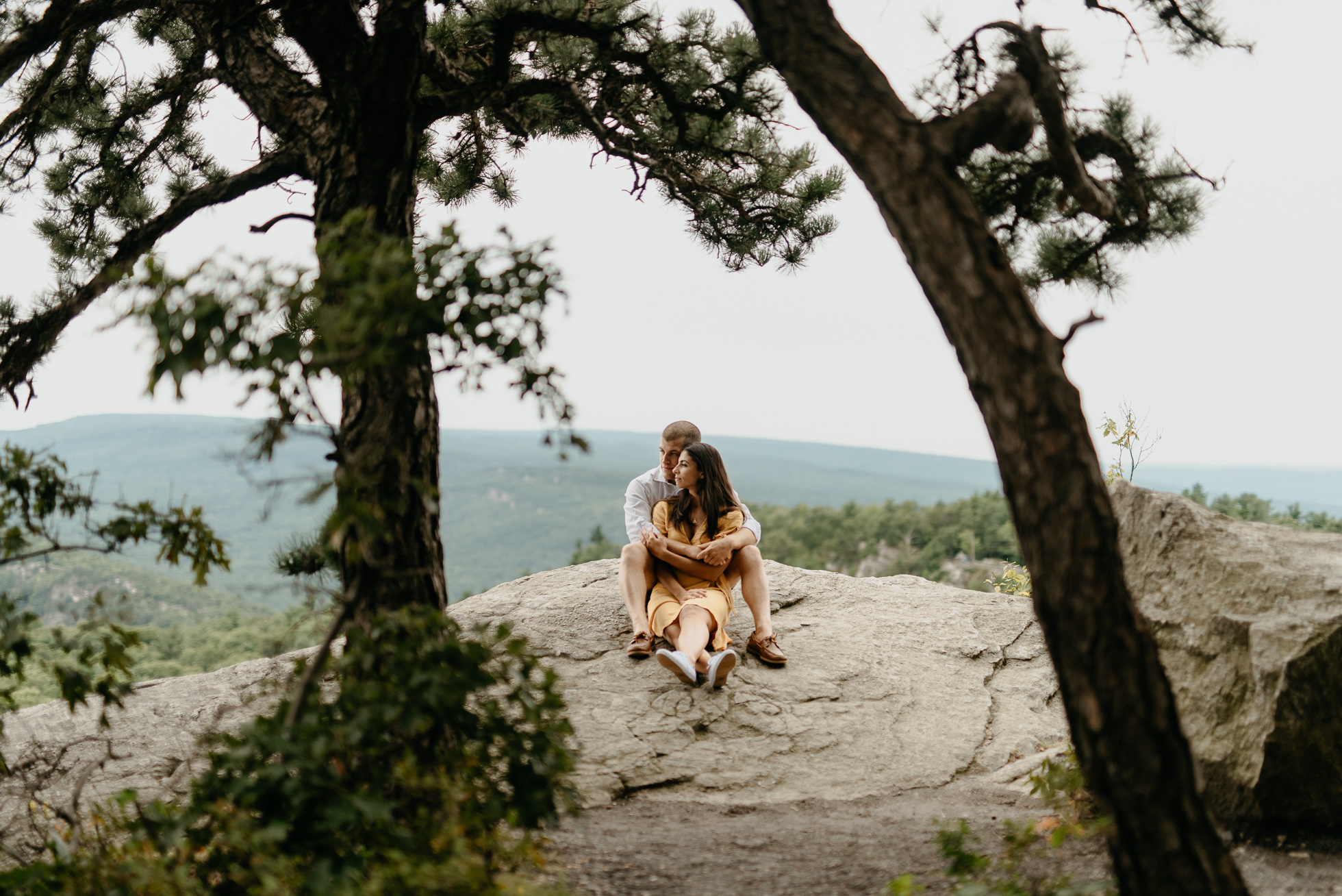 engagement photos Catskill mountains