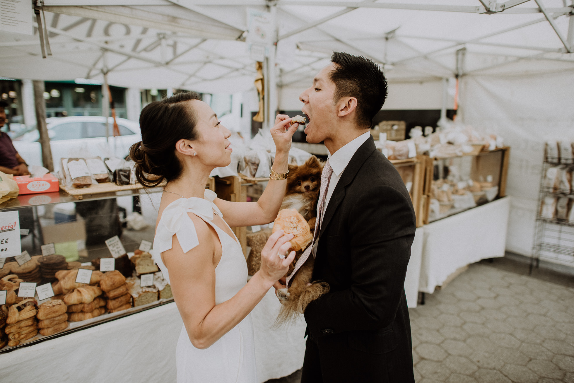 farmers market engagement session