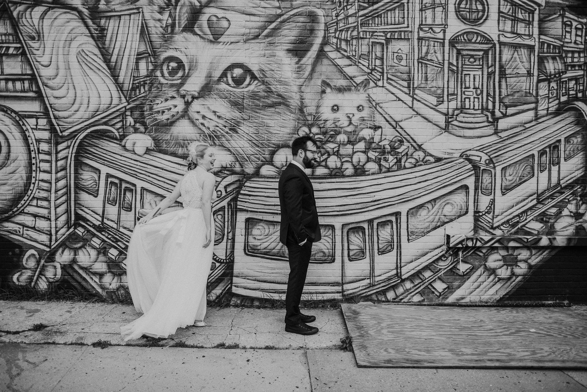 first look in brooklyn photographed by Traverse The Tides