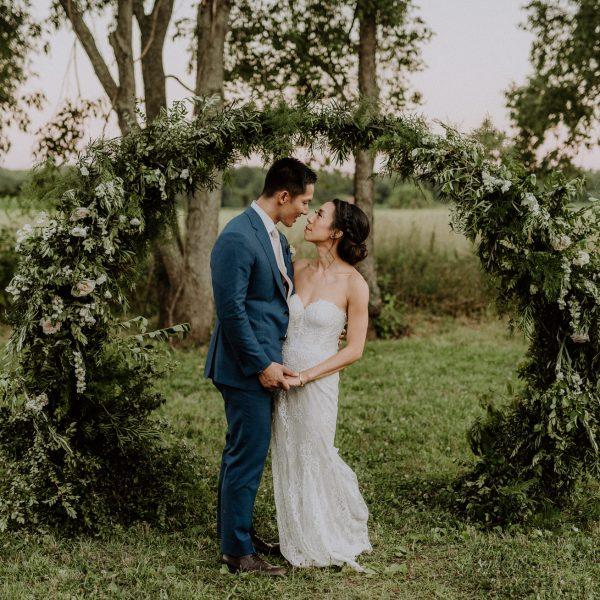 Updike Farmstead Wedding- Jean & Patrick Pt 2